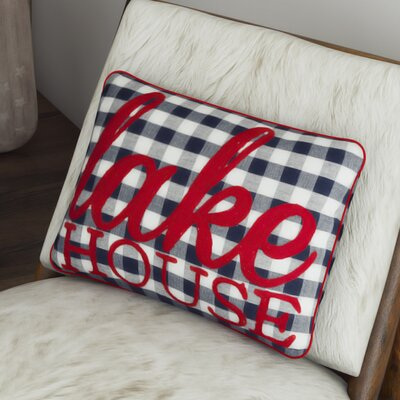 Sudbury Lake House Outdoor/Indoor Throw Pillow