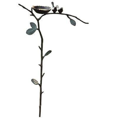 Loon Peak Chelles Bird Fee Garden Stake