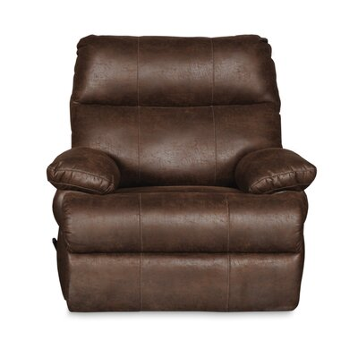 Clovis Manual Recliner Upholstery: Tobacco Brown