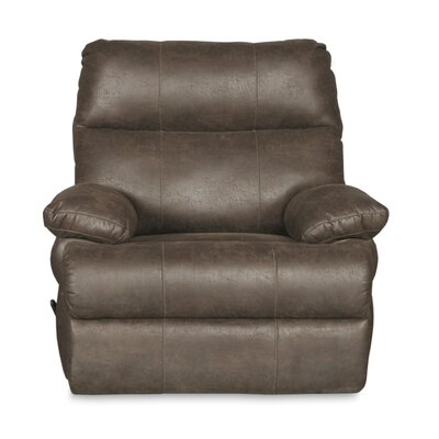 Clovis Oversized Glider Recliner Finish: Marble Gray
