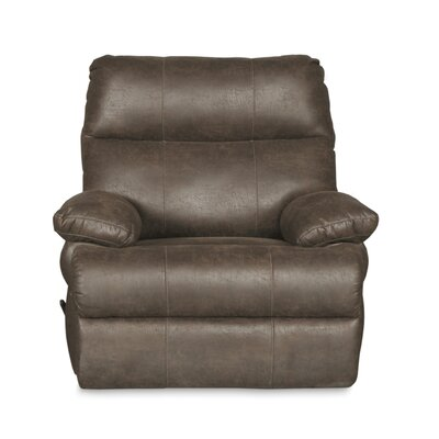 Clovis Manual Swivel Recliner Upholstery: Marble Gray