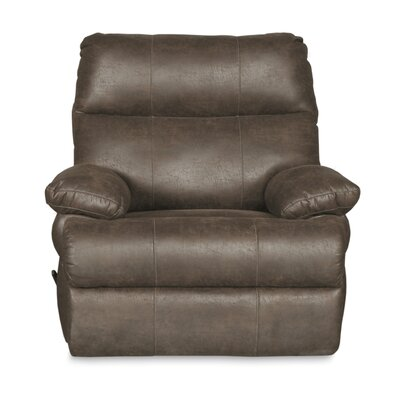 Clovis Manual Swivel Glider Recliner Upholstery: Marble
