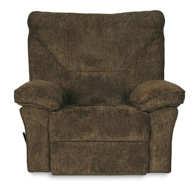 Coachella Manual Swivel Recliner Color: Brown