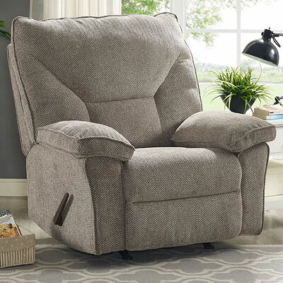 Coachella Swivel Rocker Recliner Color: Gray