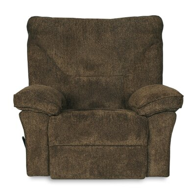 Algillo Manual Swivel Glider Recliner Color: Brown