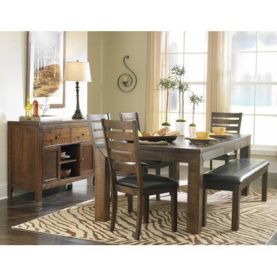 Bourg 6 Piece Dining Table Set