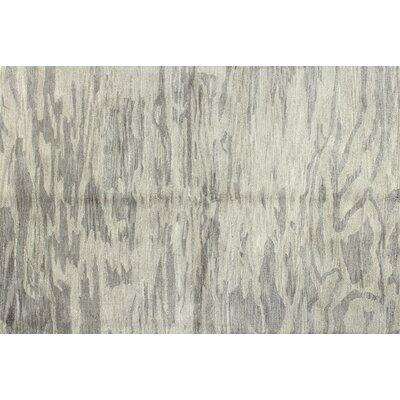 Hermosa Hand-Tufted Grey Area Rug Rug Size: 86 x 116