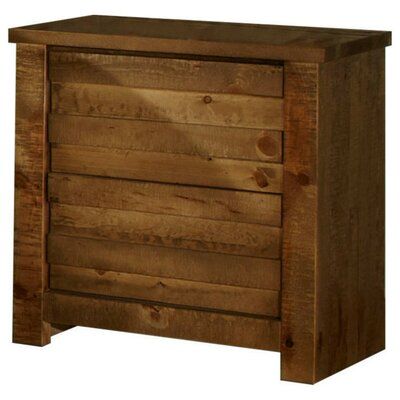 Bear Springs 2 Drawer Nightstand