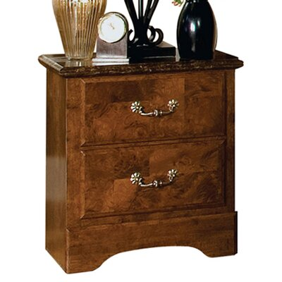 Bluffstone Standard 2 Drawer Nightstand
