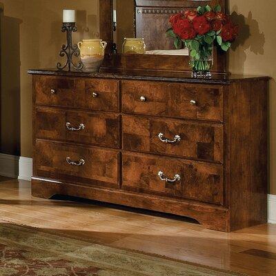 Bluffstone Double 6 Drawer Dresser
