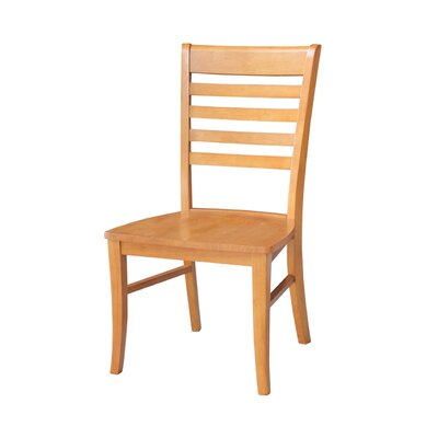 Bezons Solid Wood Chair Chair Finish: Cherry