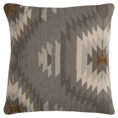 Gleneagle Throw Pillow Color: Gray