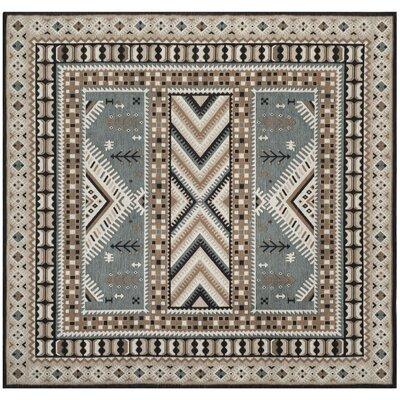 Herblain Beige Indoor Area Rug Rug Size: 4 x 6