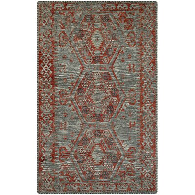 Maturango Gray/Terracotta Area Rug Rug Size: 33 x 910