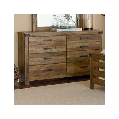 Piegan 6 Drawer Double Dresser