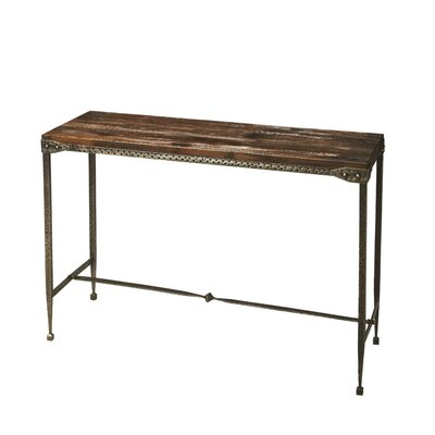 Bradner Accacia Console Table Finish: Brown