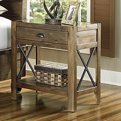 Gilman 1 Drawer Nightstand