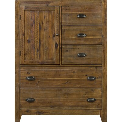 Gilman 5 Drawer Gentlemans Chest