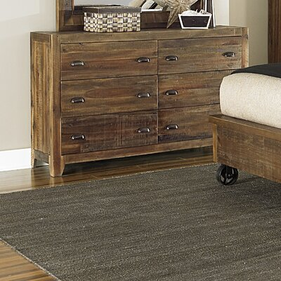 Gilman 6 Drawer Standard Dresser