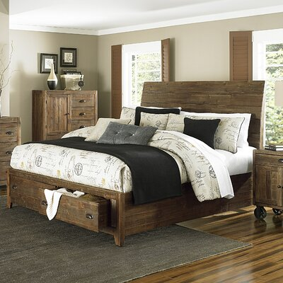 Gilman Ridge Island Storage Panel Bed