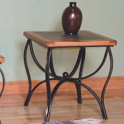 Fresno End Table Finish: Rustic Oak