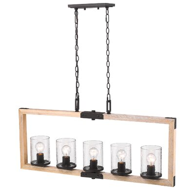 Rio Grande 5-Light Kitchen Island Pendant