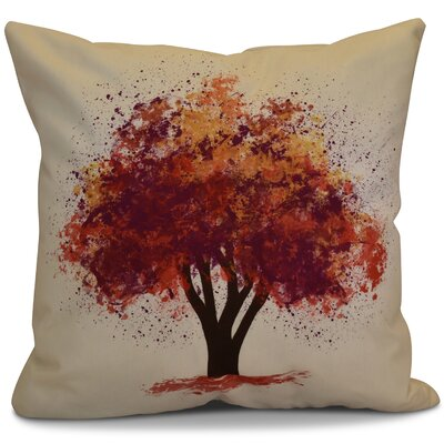 Brookfield Bounty Floral Euro Pillow Color: Purple