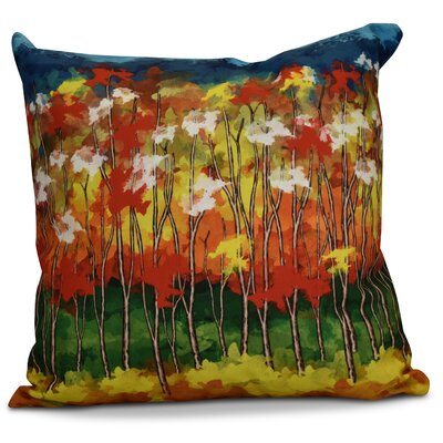 Brookfield Floral Throw Pillow Size: 20 H x 20 W x 2 D