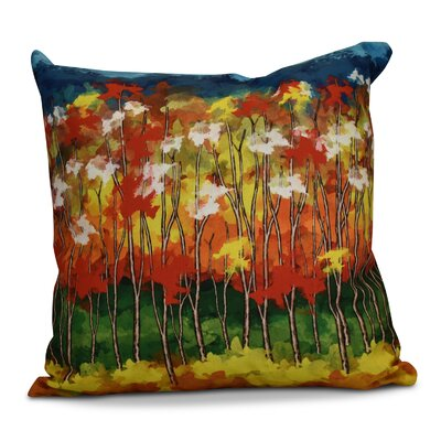 Brookfield Floral Outdoor Throw Pillow Size: 16 H x 16 W x 2 D