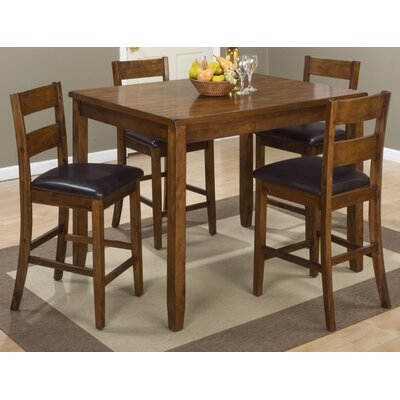 Fort Morgan 5 Piece Counter Height Pub Table Set