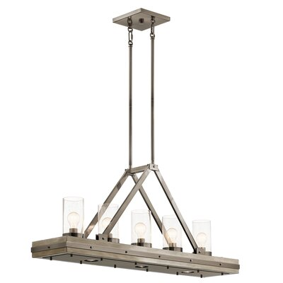 Olney Springs 5-Light Kitchen Island Pendant