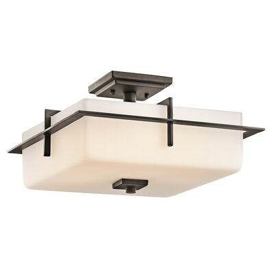 Sulphur 3-Light Semi Flush Mount