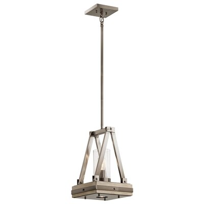 Olney Springs 1-Light Foyer Pendant