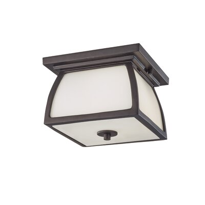 Alhambra 2-Light Flush Mount Finish: Oil Rubbed Bronze