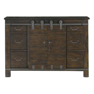 Crater Ridge 6 Drawer Media Chest