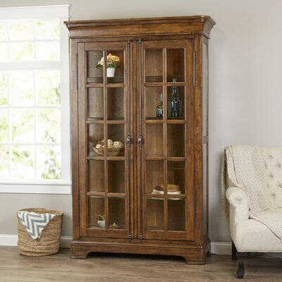 Gilcrest Lighted Curio Cabinet