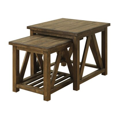 Terrones 2 Piece Nesting Tables