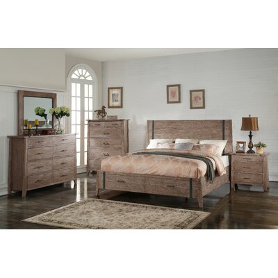 Porte Crayon Panel Customizable Bedroom Set