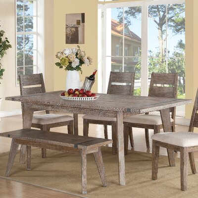 Porte Crayon Dining Table with Butterfly Leaf