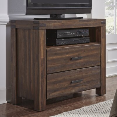 Palo Alto 2 Drawer Media Chest