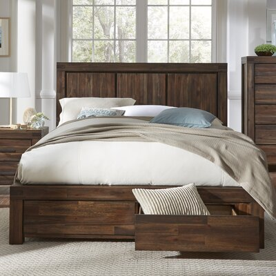 Palo Alto Storage Panel Bed Size: California King