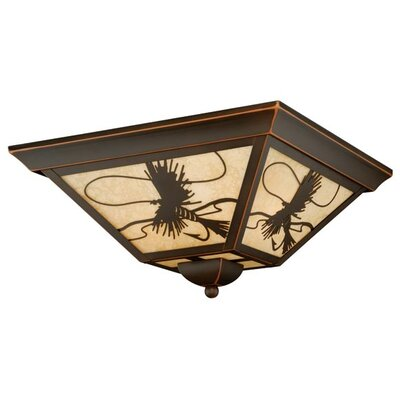 Pittview 3-Light Flush Mount