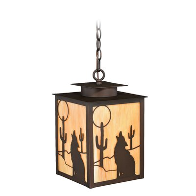 Perrott 1-Light Outdoor Hanging Lantern