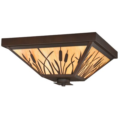 Perris 3-Light Flush Mount