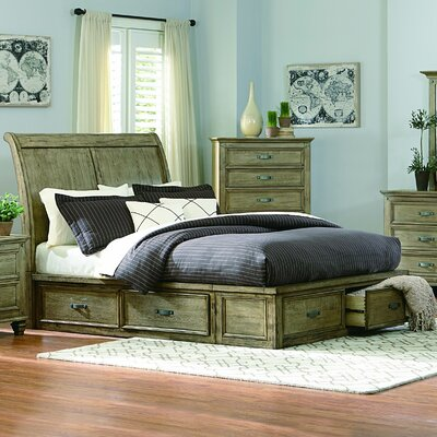 Attleboro Storage Platform Bed Size: Queen