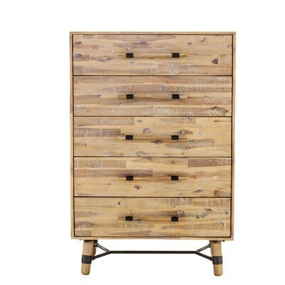 Bozova 5 Drawer Chest