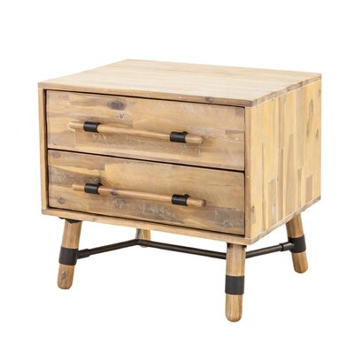 Adrianna 2 Drawer Nightstand