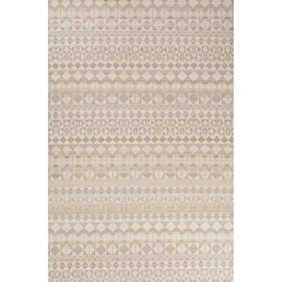 Caddo Gray/Tan Area Rug Rug Size: 2 x 3