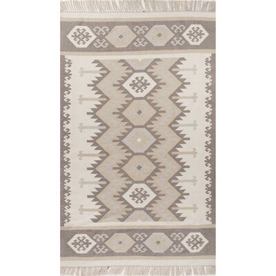 Gurley Ivory/Neutral Indoor/Outdoor Area Rug Rug Size: Rectangle 36 x 56