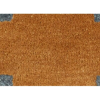 Cadoz Hand-Tufted Tan/Blue Area Rug Rug Size: Rectangle 2 x 3